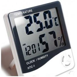 3 u 1 Digitalni Higrometar, Termometar i Sat